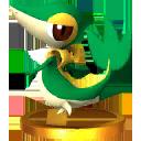 Trofeo de Snivy SSB4 (3DS).png