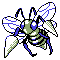 Imagen de Beedrill variocolor en Pokémon Plata