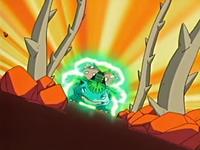 Venusaur usando planta feroz.