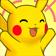 Cara eufórica de Pikachu 3DS.png