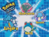¿Cuál de estos Pokémon es la primera evolución de Kingdra