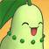 Cara feliz de Chikorita 3DS.png