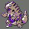 Imagen de Tyranitar variocolor en Pokémon Plata
