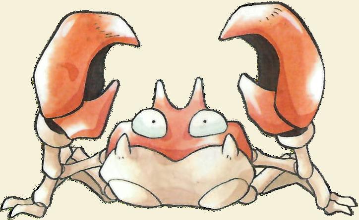 Krabby en la primera generación.png
