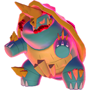 Imagen de Drednaw Gigamax en Pokémon Espada y Pokémon Escudo