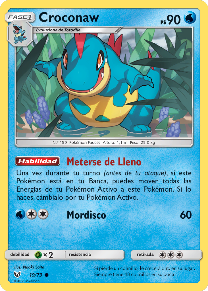 Carta de Croconaw
