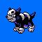 Imagen de Houndour variocolor en Pokémon Plata