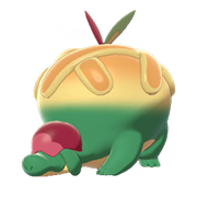 Imagen de Appletun en Pokémon Espada y Pokémon Escudo