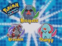 ¿Cuál de estos Pokémon no es tipo tierra?