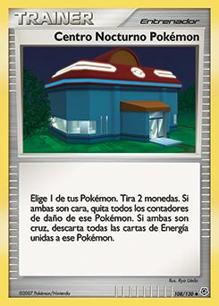 Carta Centro Nocturno Pokémon
