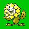 Imagen de Sunflora variocolor en Pokémon Plata