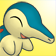 Cara ilusionada de Cyndaquil 3DS.png