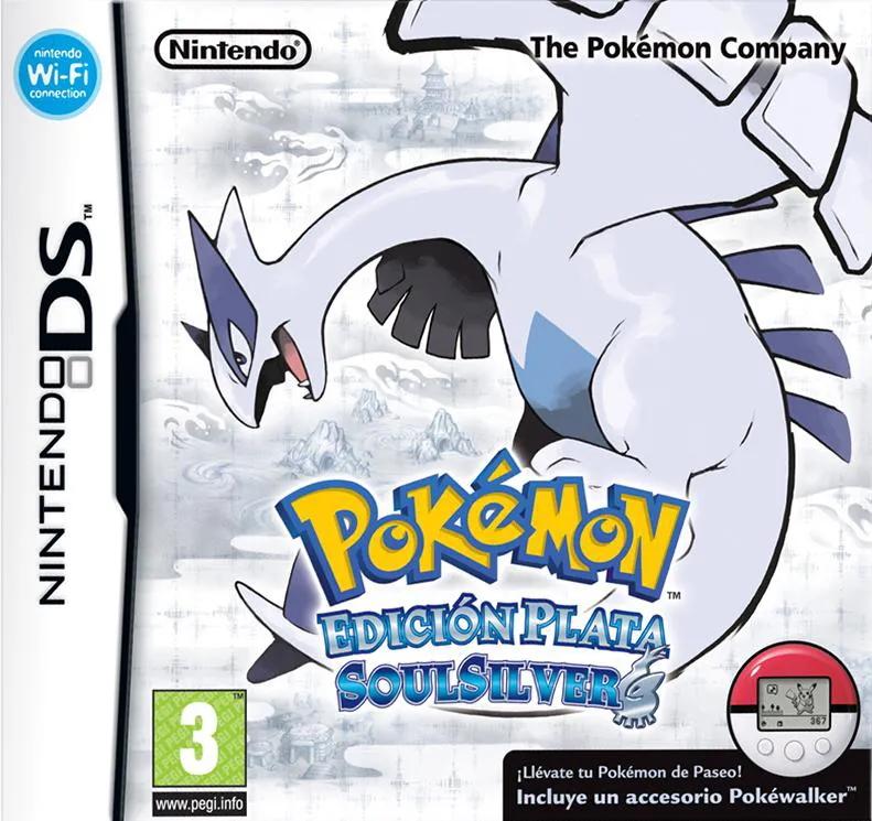 Carátula de Pokémon Edición Plata SoulSilver