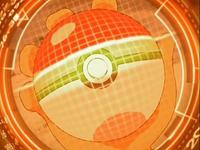 Analizando sus movimientos estando ya dentro de su Pokébola/Poké Ball en su posesión.