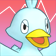 Cara enfadada de Ducklett 3DS.png