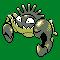 Imagen de Kingler variocolor en Pokémon Plata