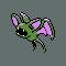 Imagen de Zubat variocolor en Pokémon Plata