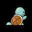 Imagen posterior de Squirtle en la tercera generación