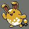 Imagen de Azumarill variocolor en Pokémon Plata