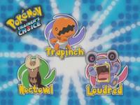 ¿Cuál de estos Pokémon va del suelo a la tierra en una evolución?
