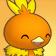 Cara feliz de Torchic 3DS.png