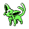 Imagen de Espeon variocolor en Pokémon Plata