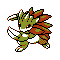 Imagen de Sandslash variocolor en Pokémon Plata