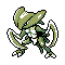 Imagen de Kabutops variocolor en Pokémon Plata