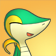 Cara feliz de Snivy 3DS.png