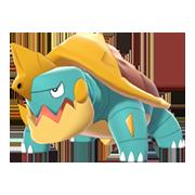 Imagen de Drednaw en Pokémon Espada y Pokémon Escudo