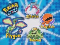 ¿Cuál de estos Pokémon es la primera evolución de Flygon?