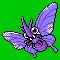 Imagen de Venomoth variocolor en Pokémon Plata