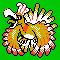 Imagen de Ho-Oh variocolor en Pokémon Plata