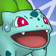 Cara impresionada de Bulbasaur 3DS.png