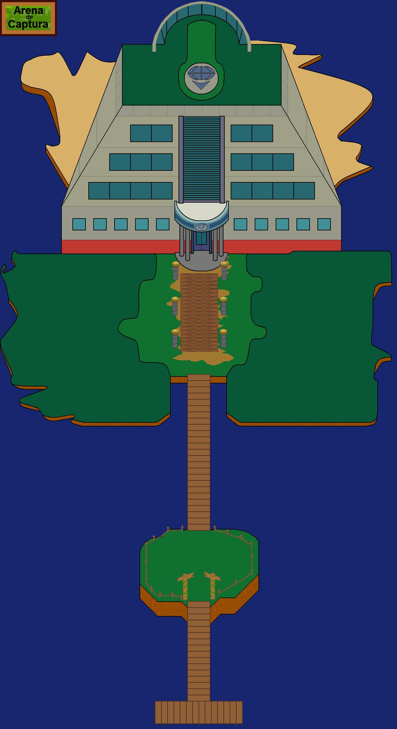 Plano de la Arena de captura.