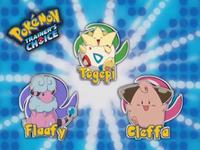 ¿Cuál de estos Pokémon no es de tipo normal?