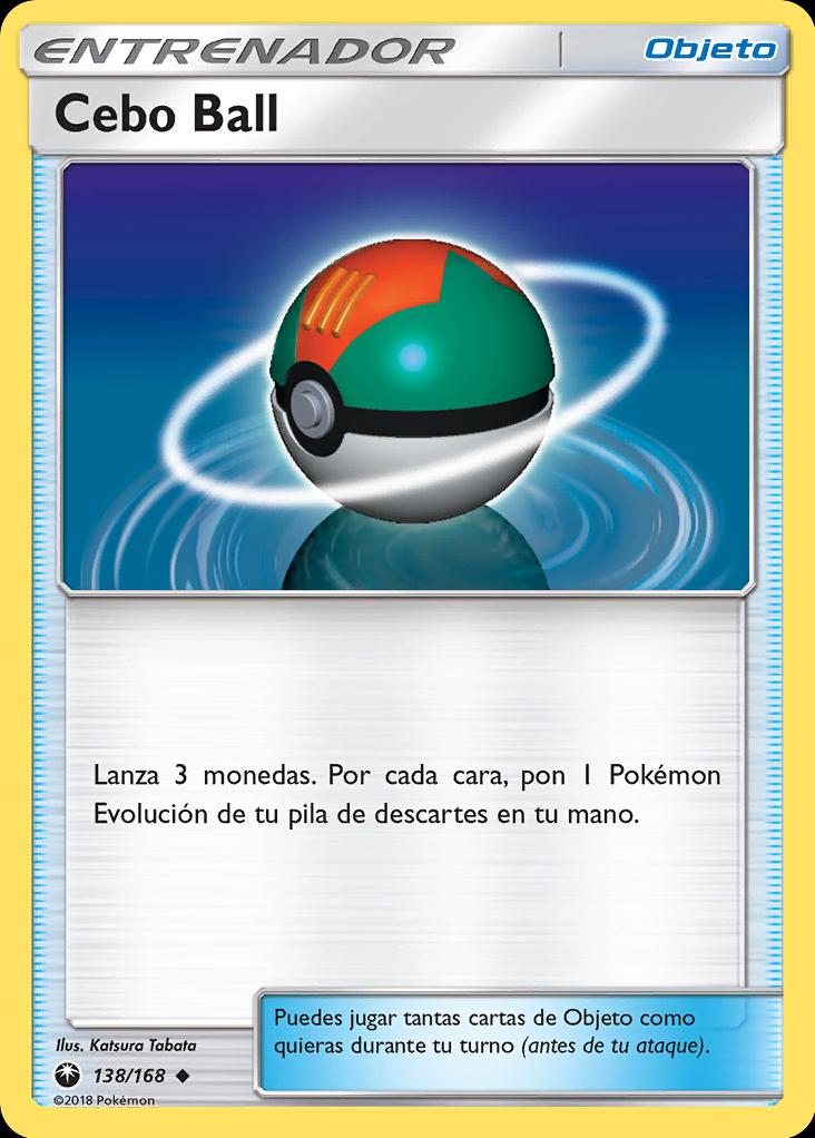 Carta Cebo Ball