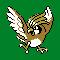 Imagen de Pidgeotto variocolor en Pokémon Plata