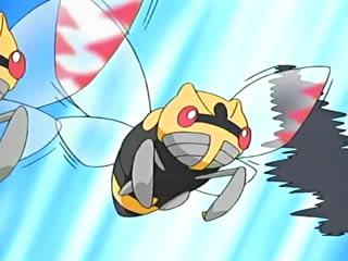 Ninjask usando doble equipo.