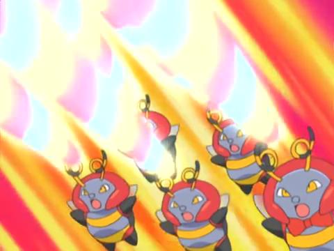 los Volbeat usando doble rayo.