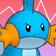 Cara enfadada de Mudkip 3DS.png