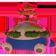 Imagen de Snorlax Gigamax variocolor en Pokémon Espada y Pokémon Escudo