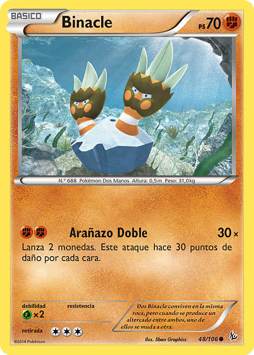 Carta de Binacle