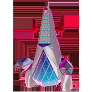 Imagen de Duraludon Gigamax en Pokémon Espada y Pokémon Escudo
