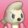 Cara enfadada de Timburr 3DS.png