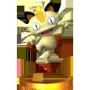 Trofeo de Meowth SSB4 (3DS).png