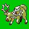 Imagen de Stantler variocolor en Pokémon Plata
