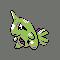 Imagen de Larvitar variocolor en Pokémon Plata