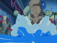 Onix de Brock usando excavar.