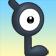 Cara de Unown L 3DS.png